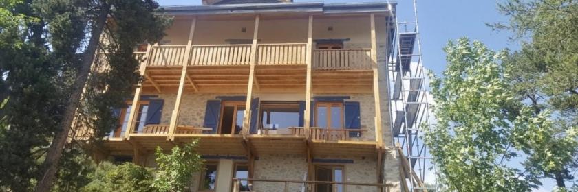 Rénovation et extension bois Pyrénées-Orientales